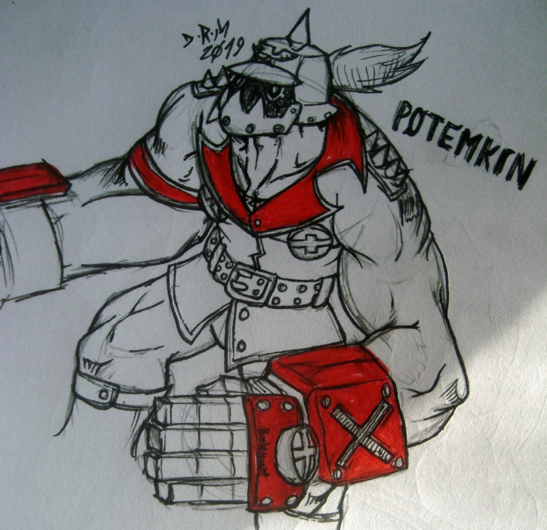 First Time Drawing Potemkin