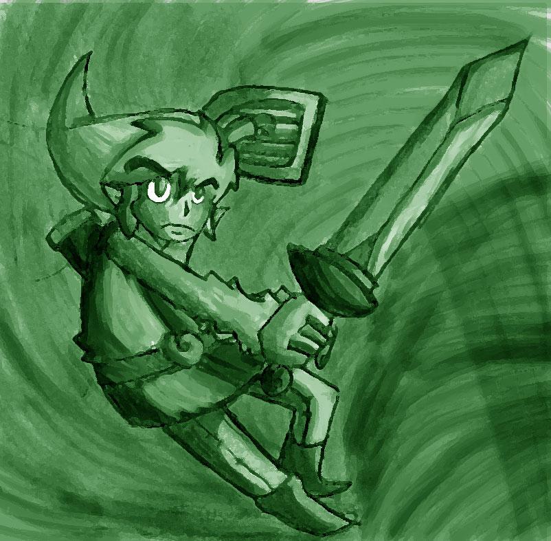 the legend of Zelda : Link