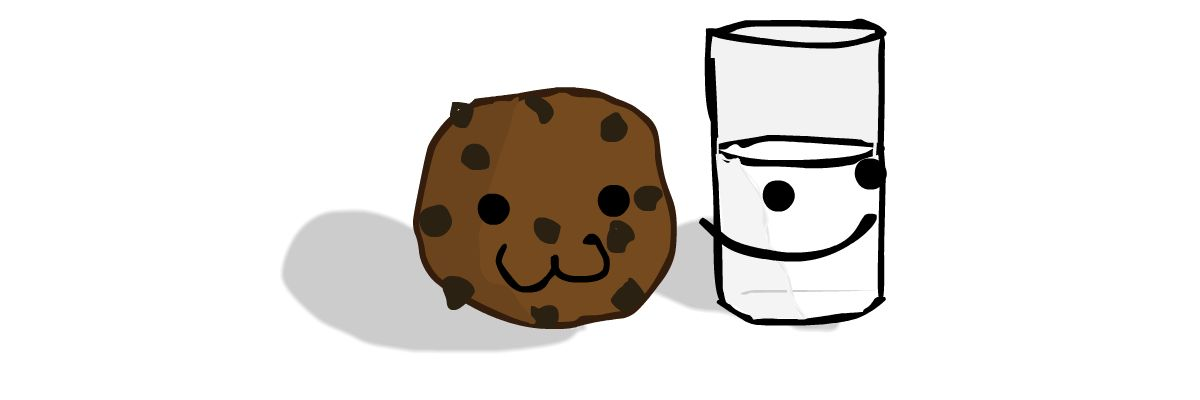 A Cookie and a Glass of Milk.