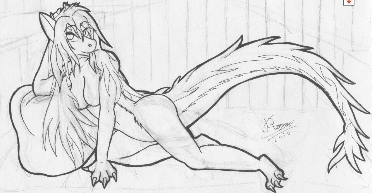 Sexy dragon WIP