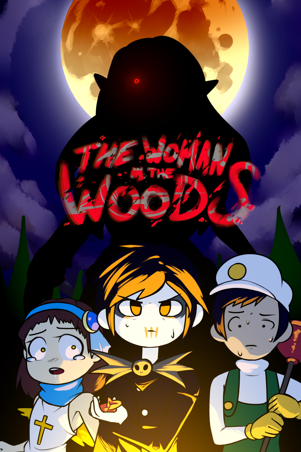 The Woman in the Woods - Full Comic