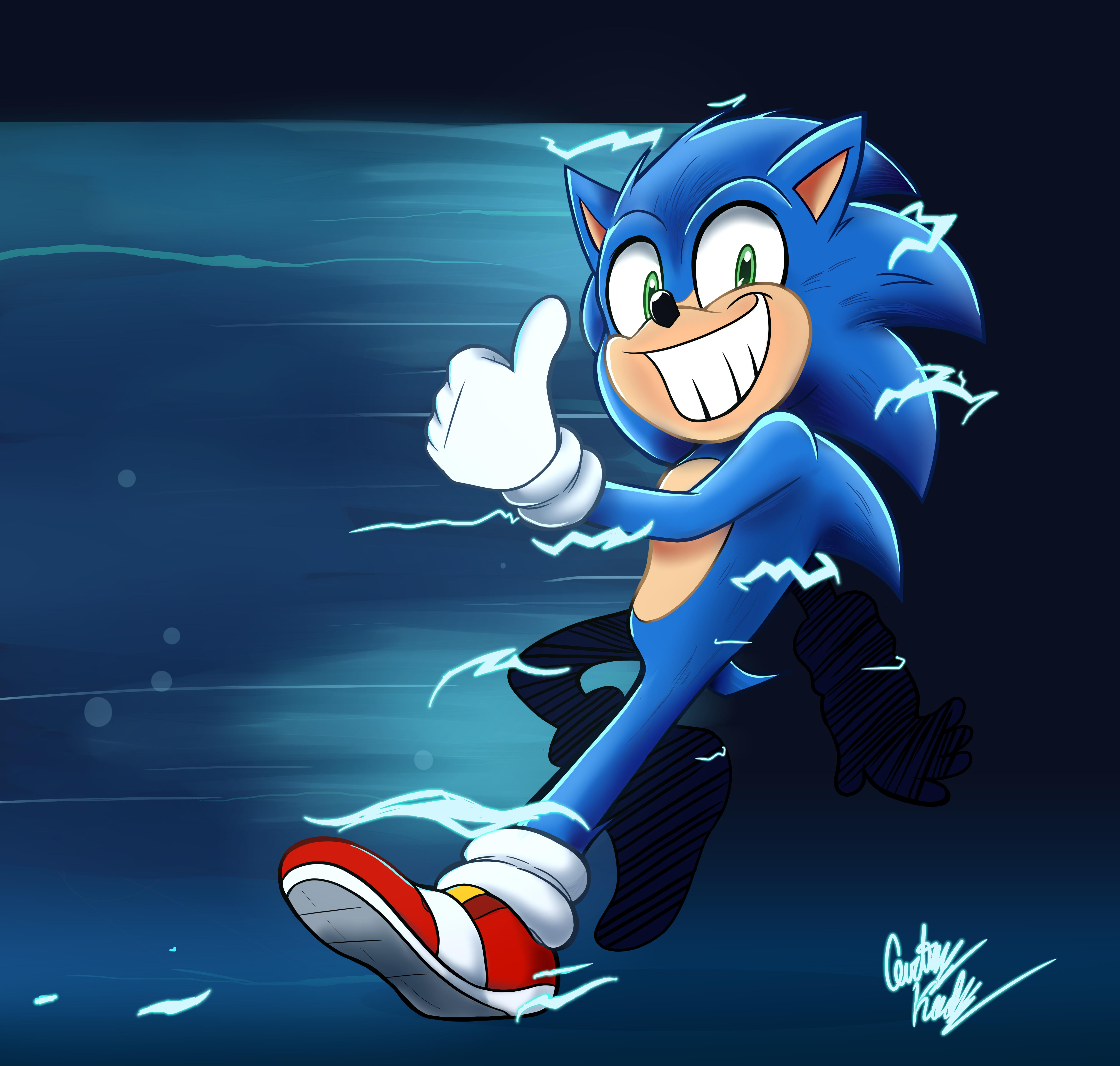 Movie Sonic's Glow Up