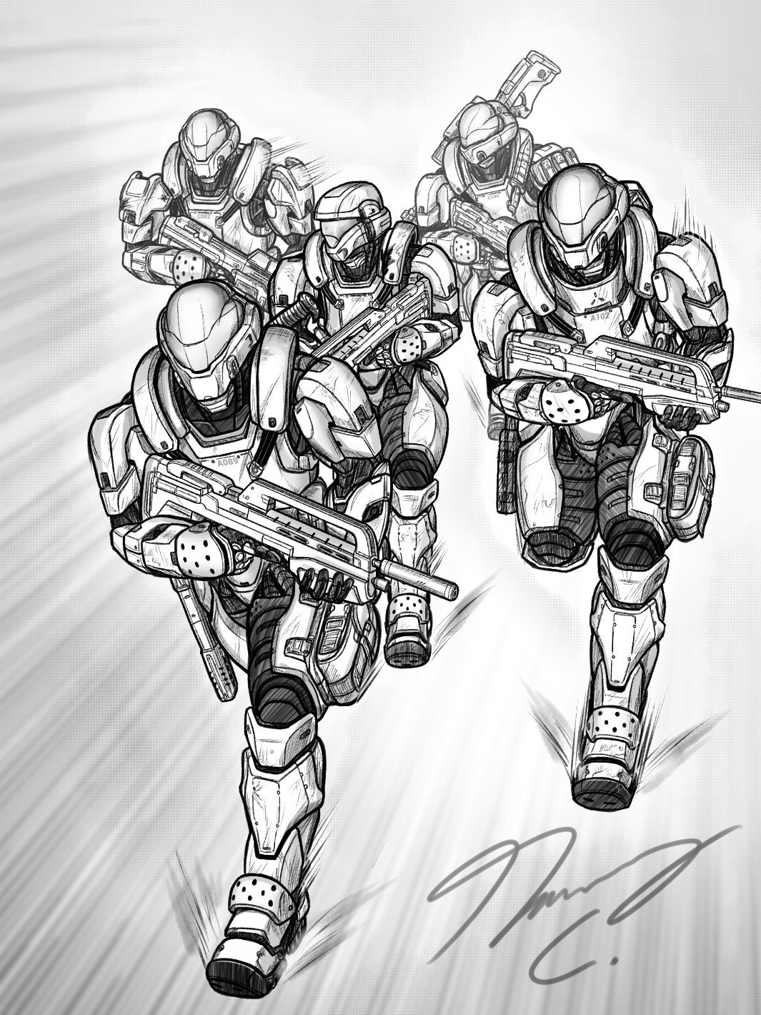 Halo-Ween 2019 - #27 Knock, Draw, Loose!