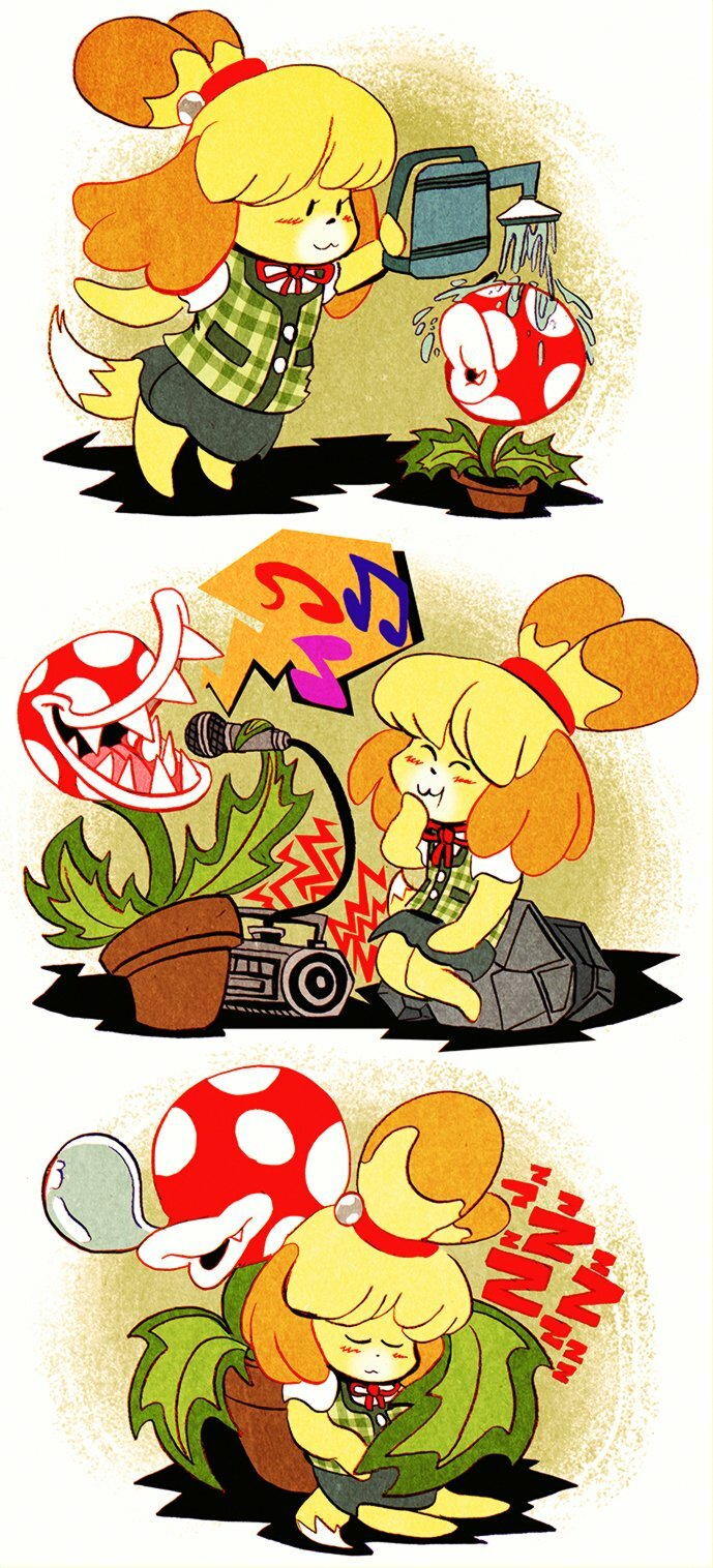 Isabelle Comic (2018)
