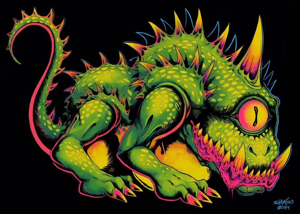 Mutated Cyclopes Lizard