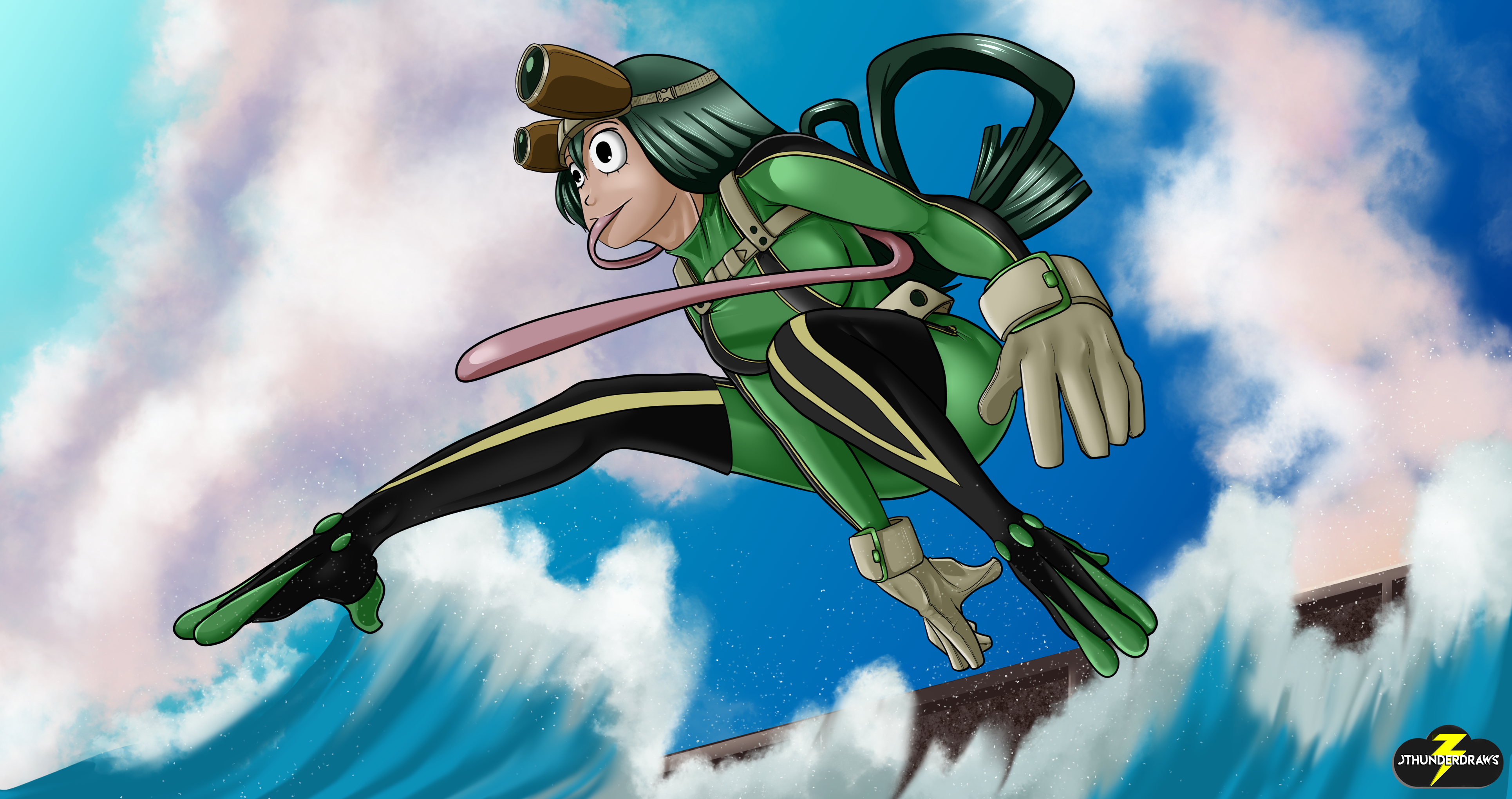 Froppy Leaps Into Action!