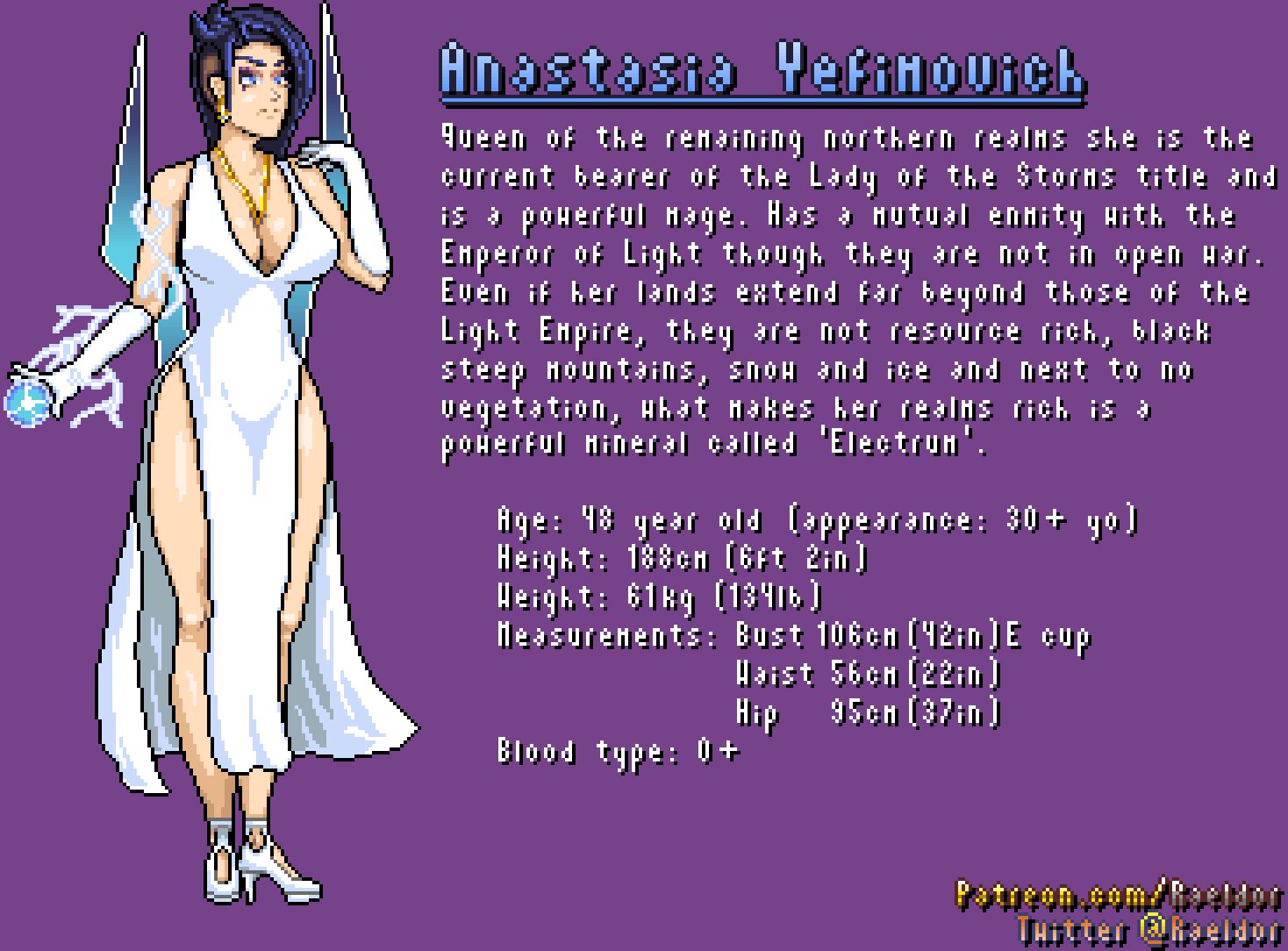 Character Sheet: Anastasia