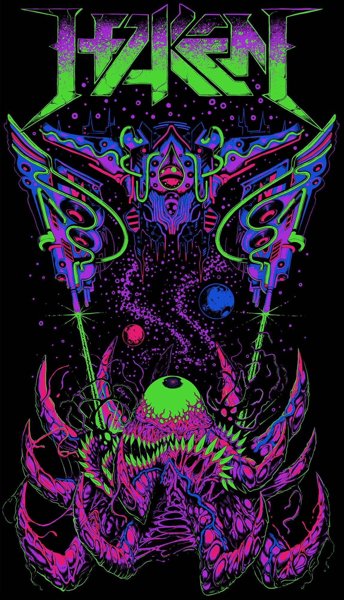 Haken T-shirt Design