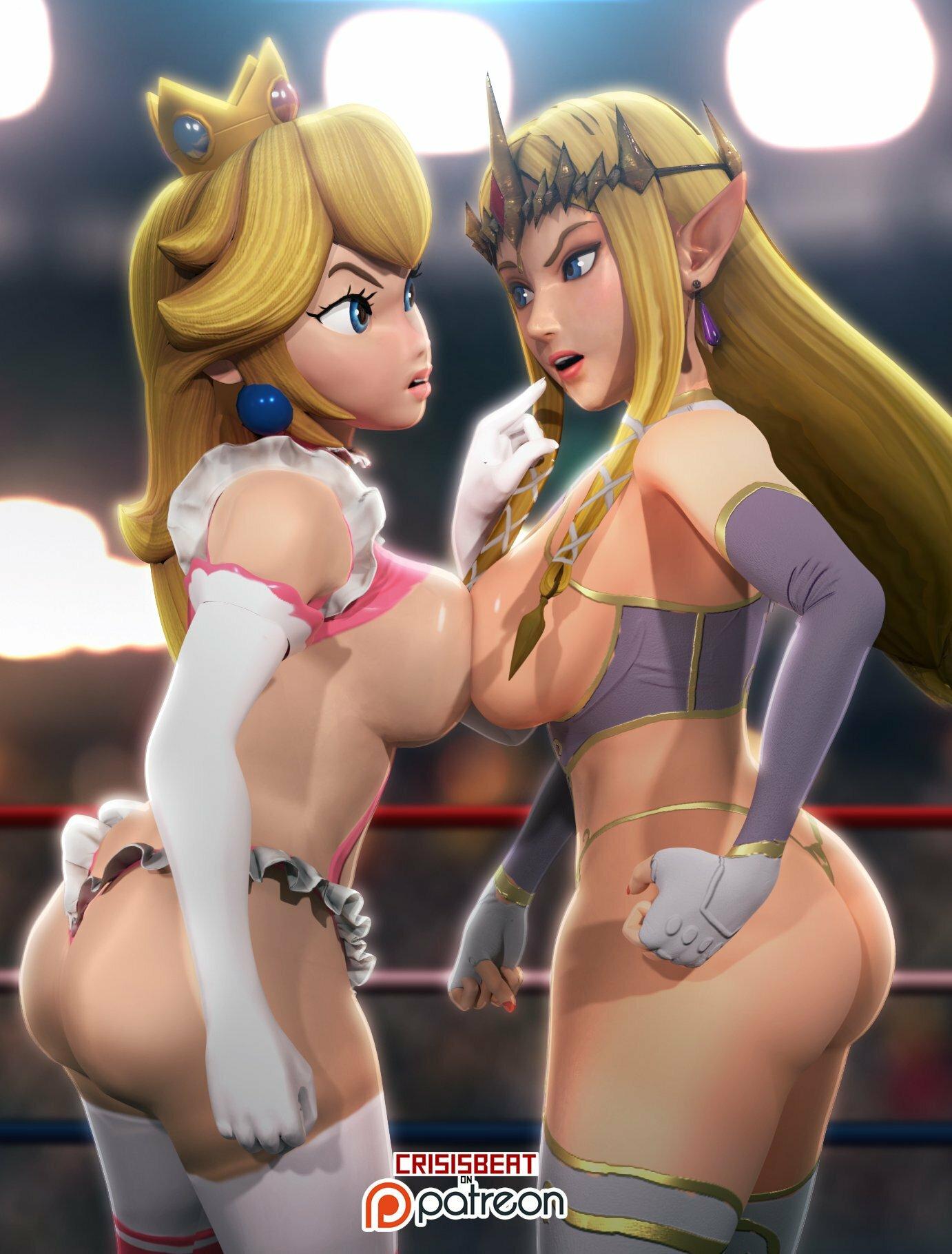 Princess Peach And Zelda D By Crisisbeat On Newgrounds