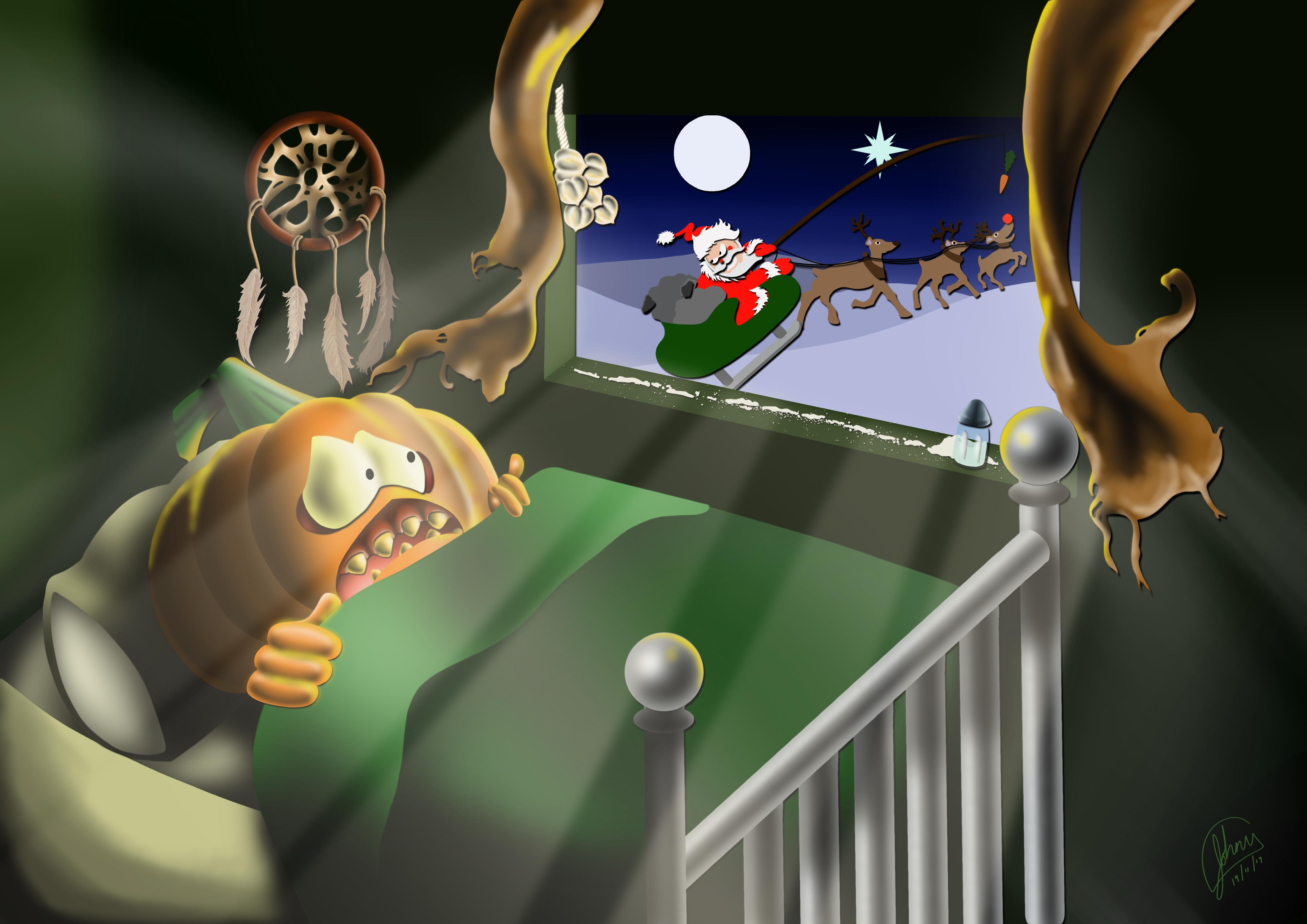 Who's Afraid Of Santa Claus?