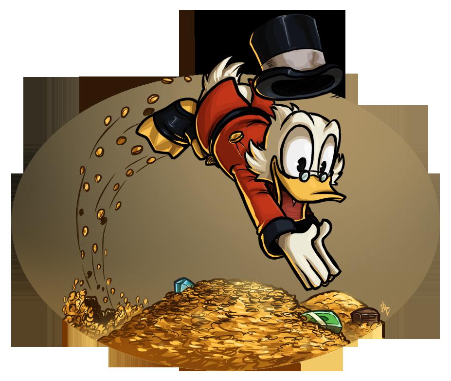 Scrooge McDuck Quickie