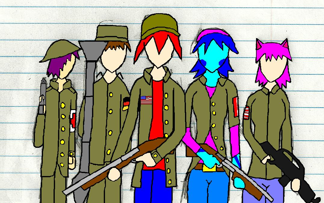 Team Pose