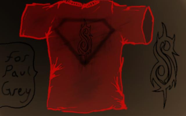 Slipknot Shirt for Paul Grey