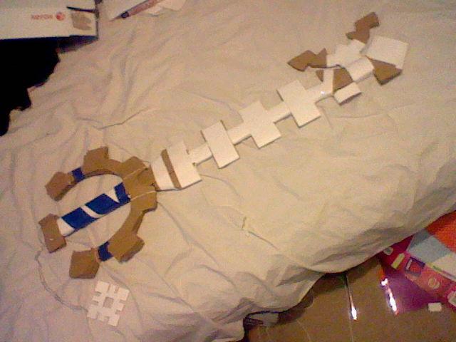 Cardboard Keyblade