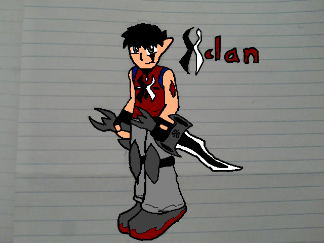 Wow chronicles-Xclan sketch