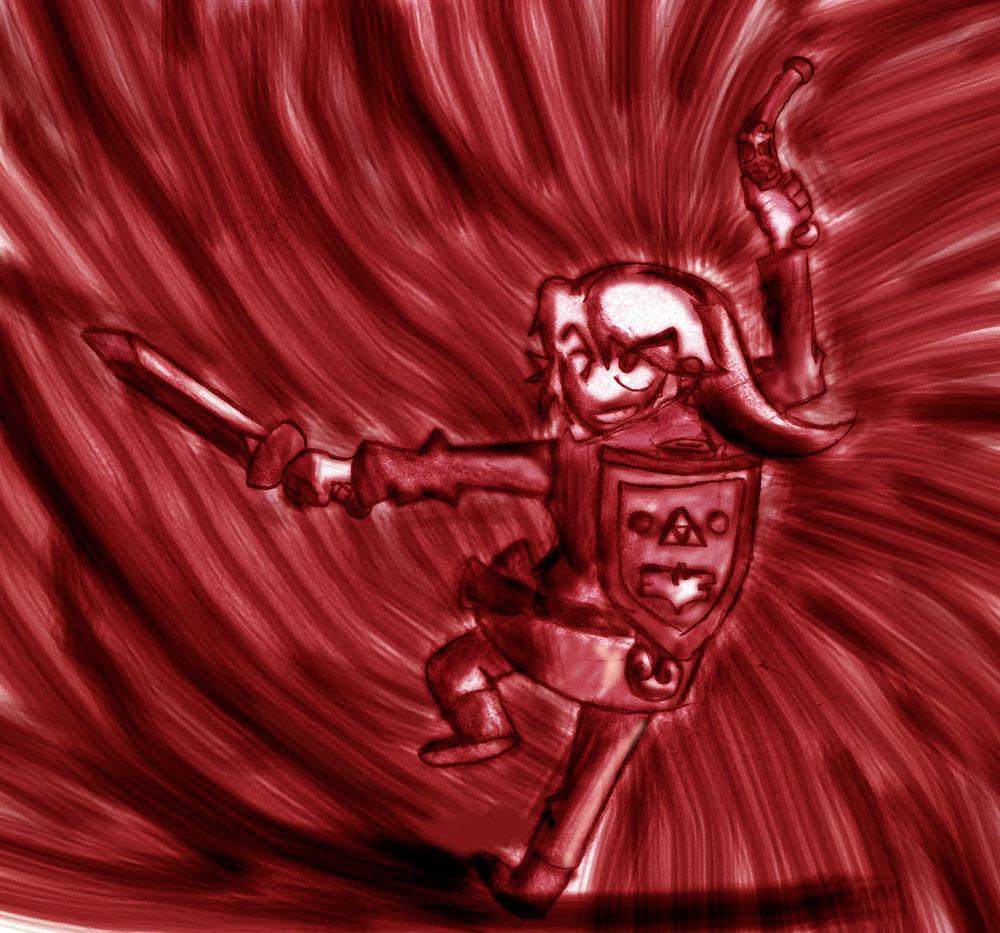 legend of Zelda:REd Link
