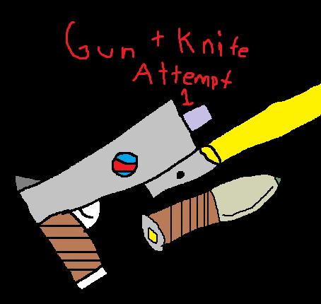 Gun + Knife Attempt 1