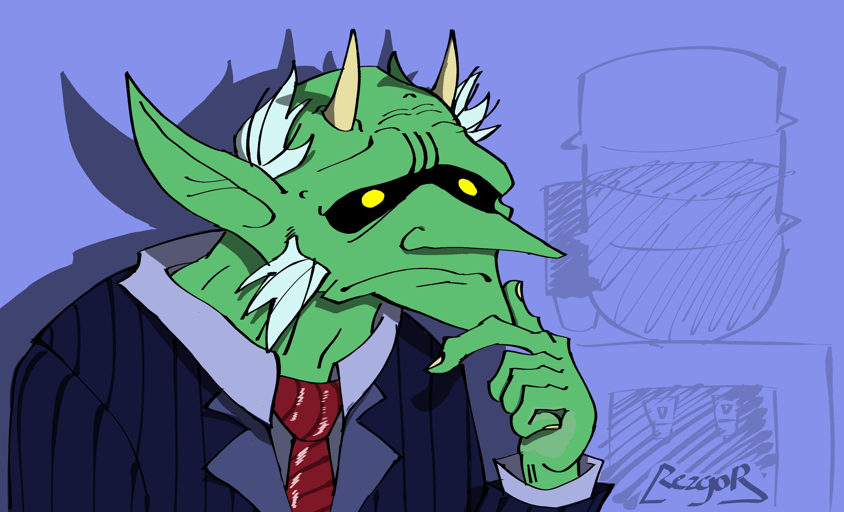Fredrick, the Goblin Lawyer