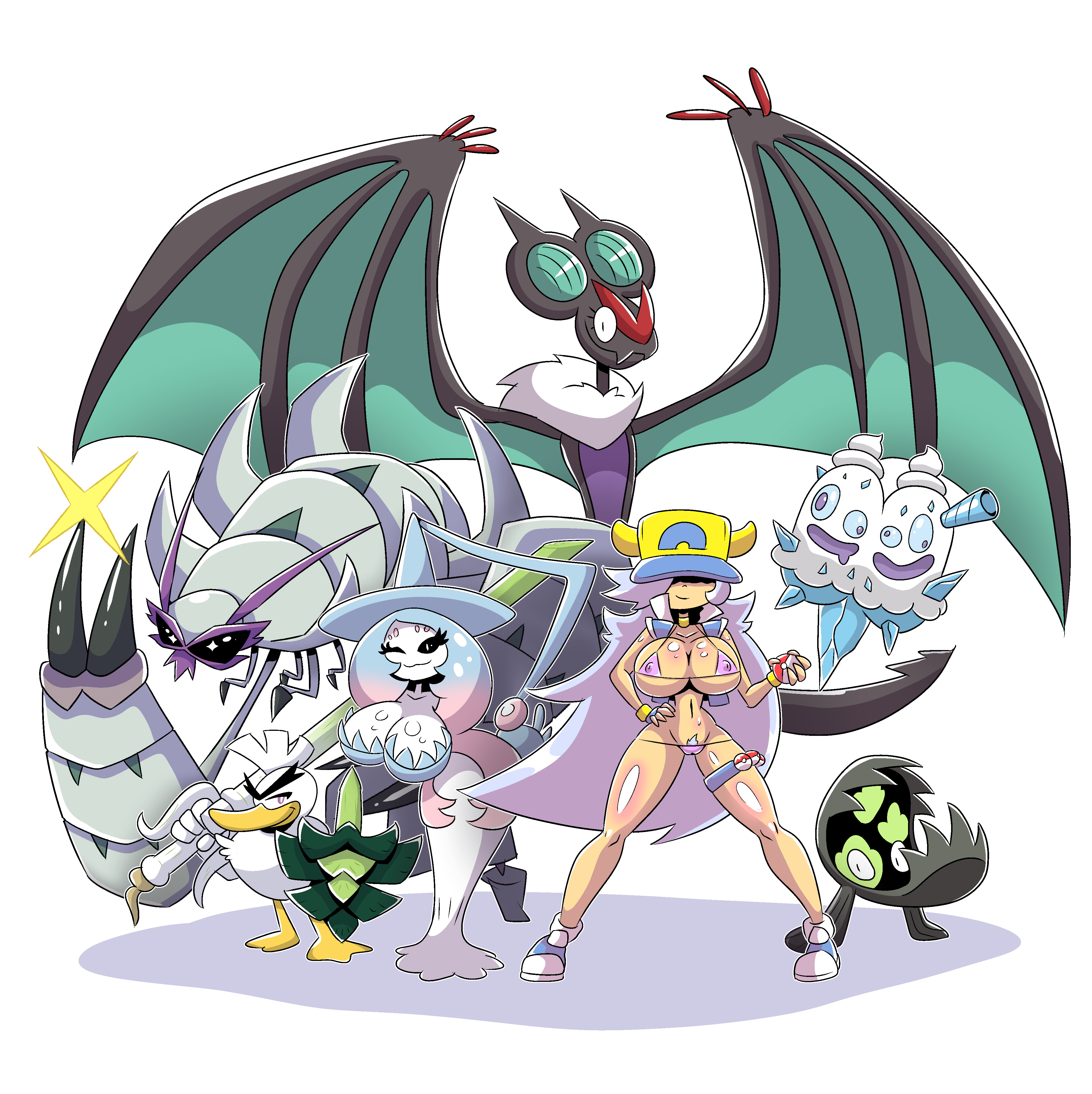sword and shield team
