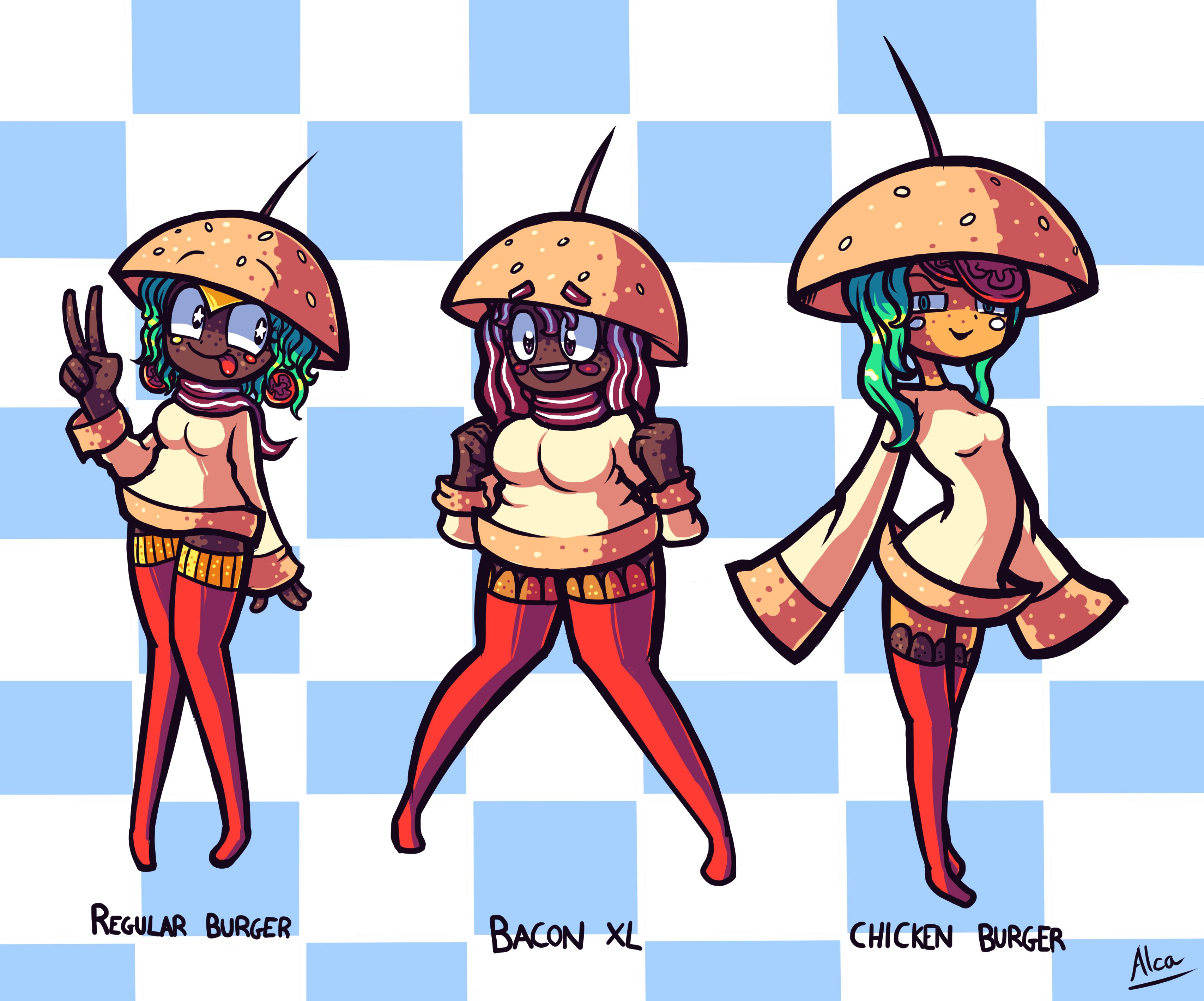 Burger Cuties