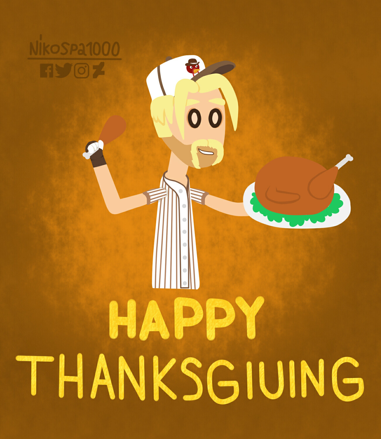 Happy Thanksgiving to Pinch Hitwell