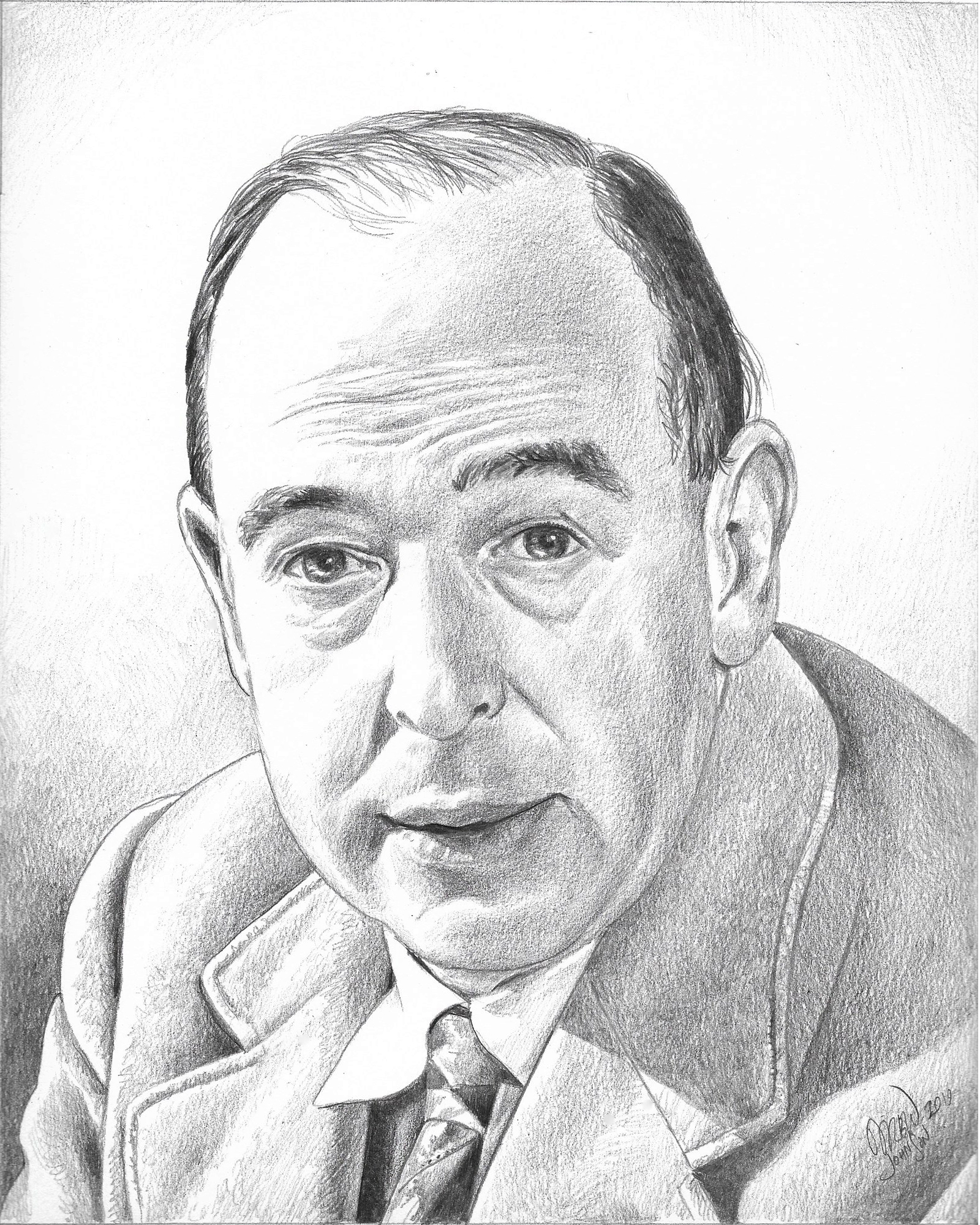 Portrait of C. S. Lewis