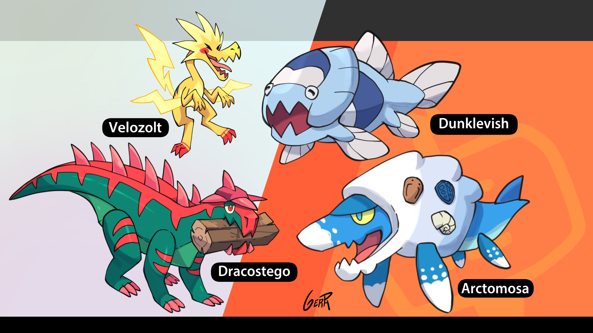All Galar fossil pokemon reconstructed!