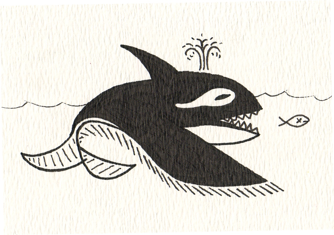 Hungry Orca