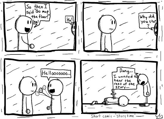 Short Comic #4 - Sethdd