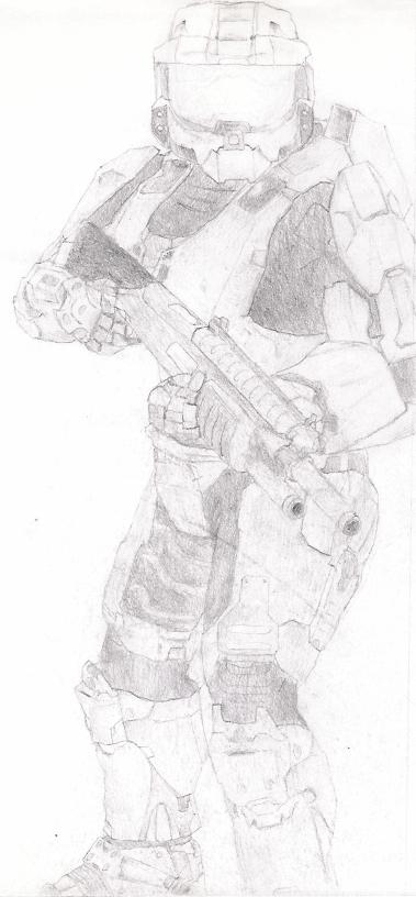 Master Chief sketch