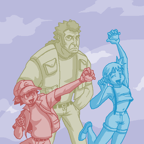 Ash, Misty and Brock