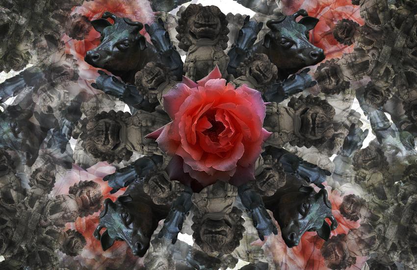 statue kaleidoscope