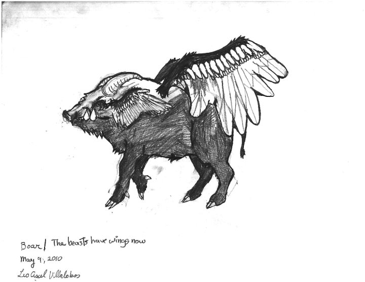 Boar/The Beasts Have Wings Now