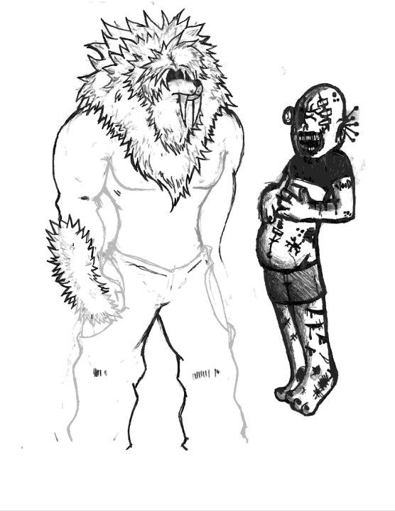 sasquash & Rejected Creature