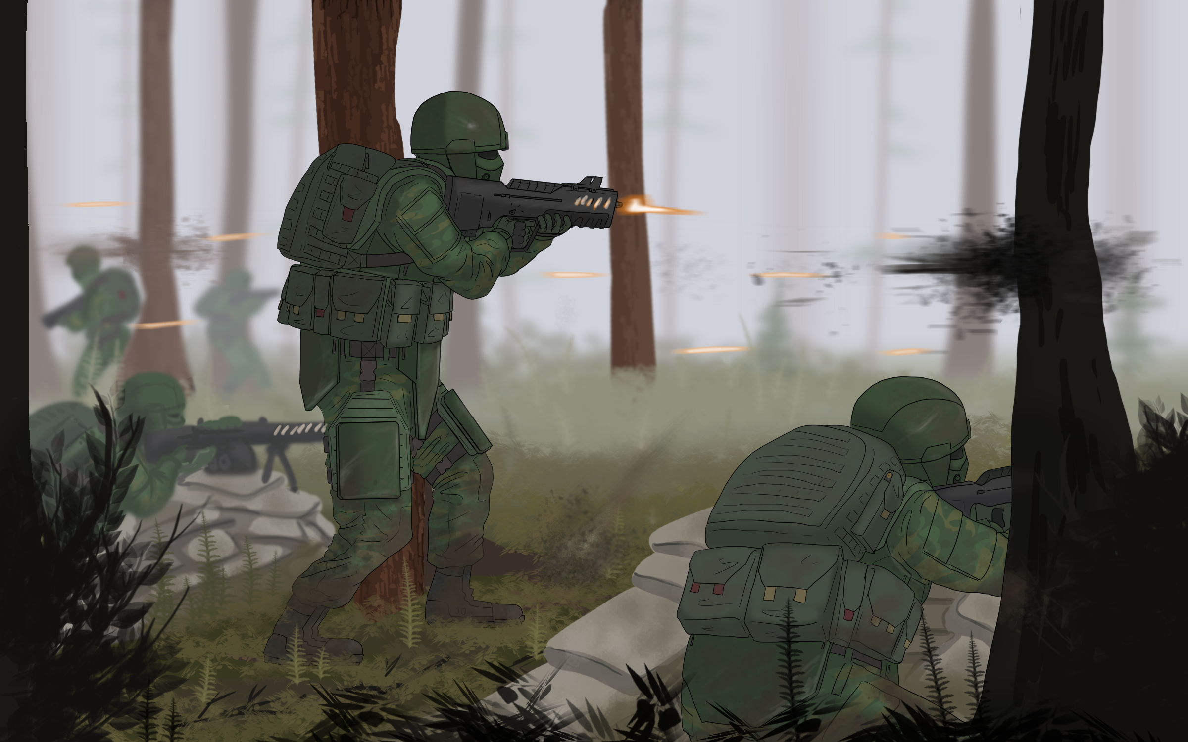 Tactical Withdrawal