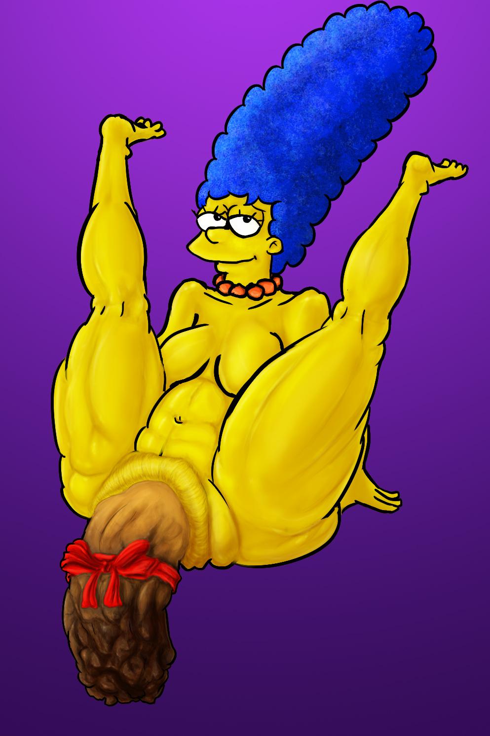 Marge Simpson's Christmas Log (SCAT)