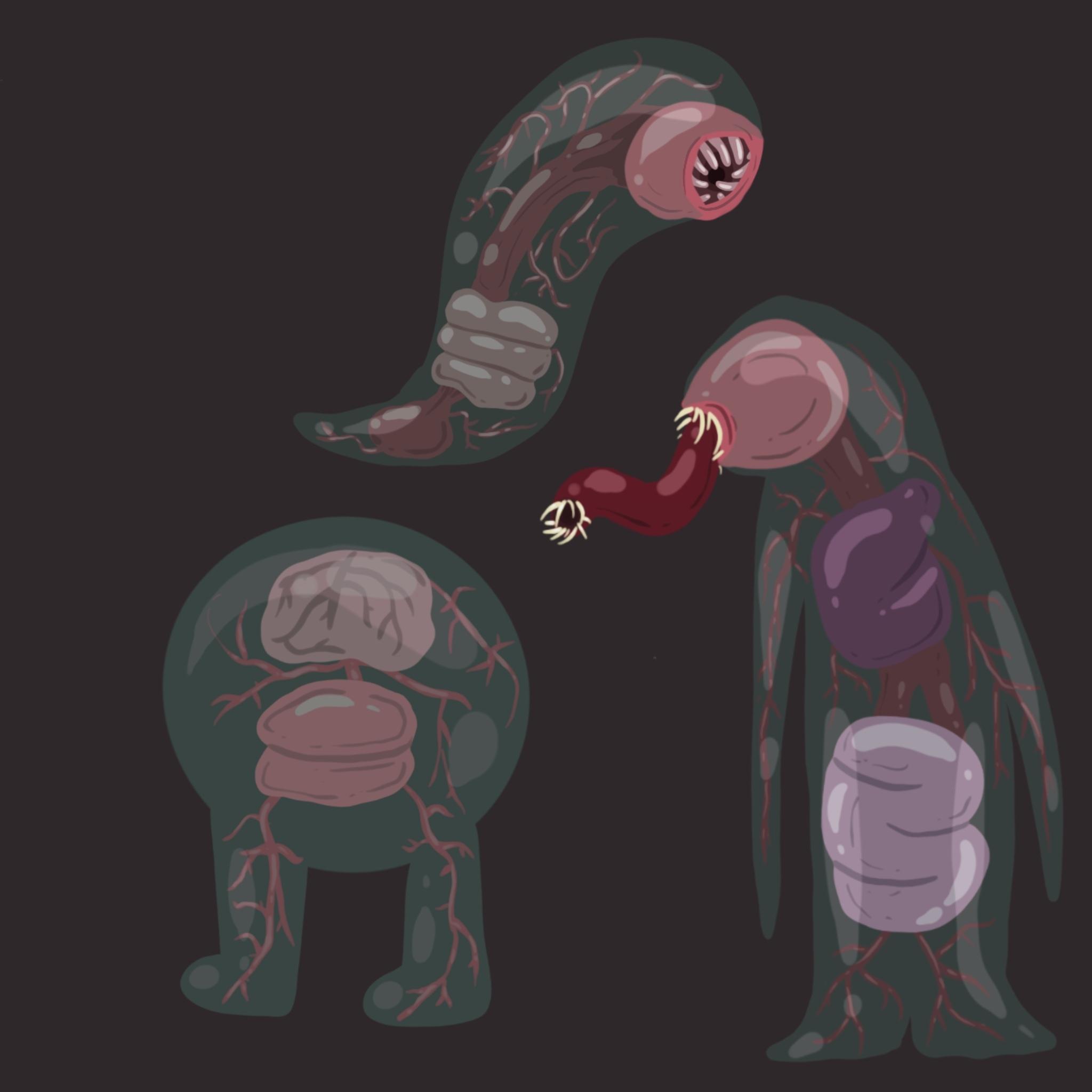 Gelatinous Creatures
