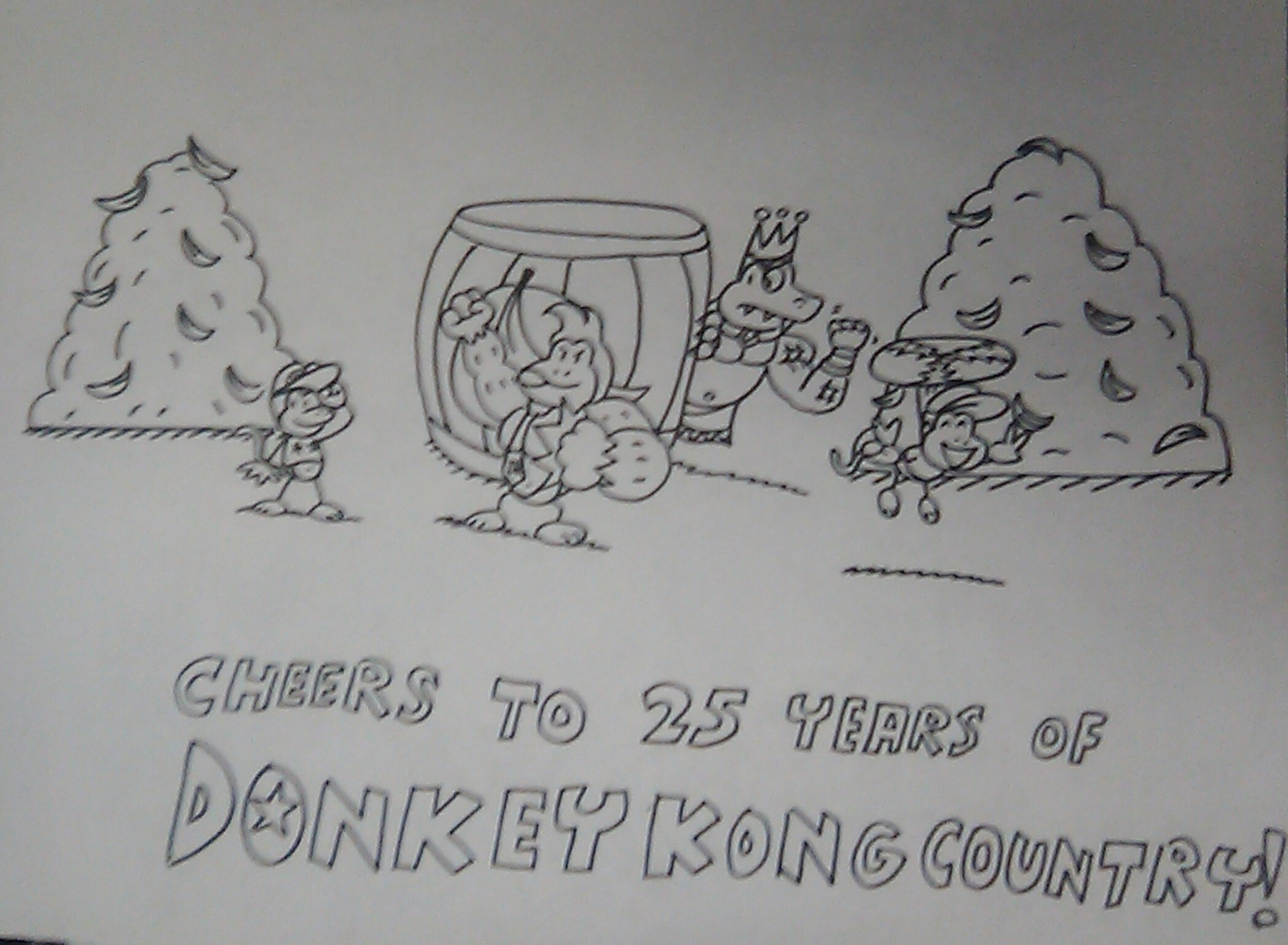 Donkey Kong Country 25th Anniversary