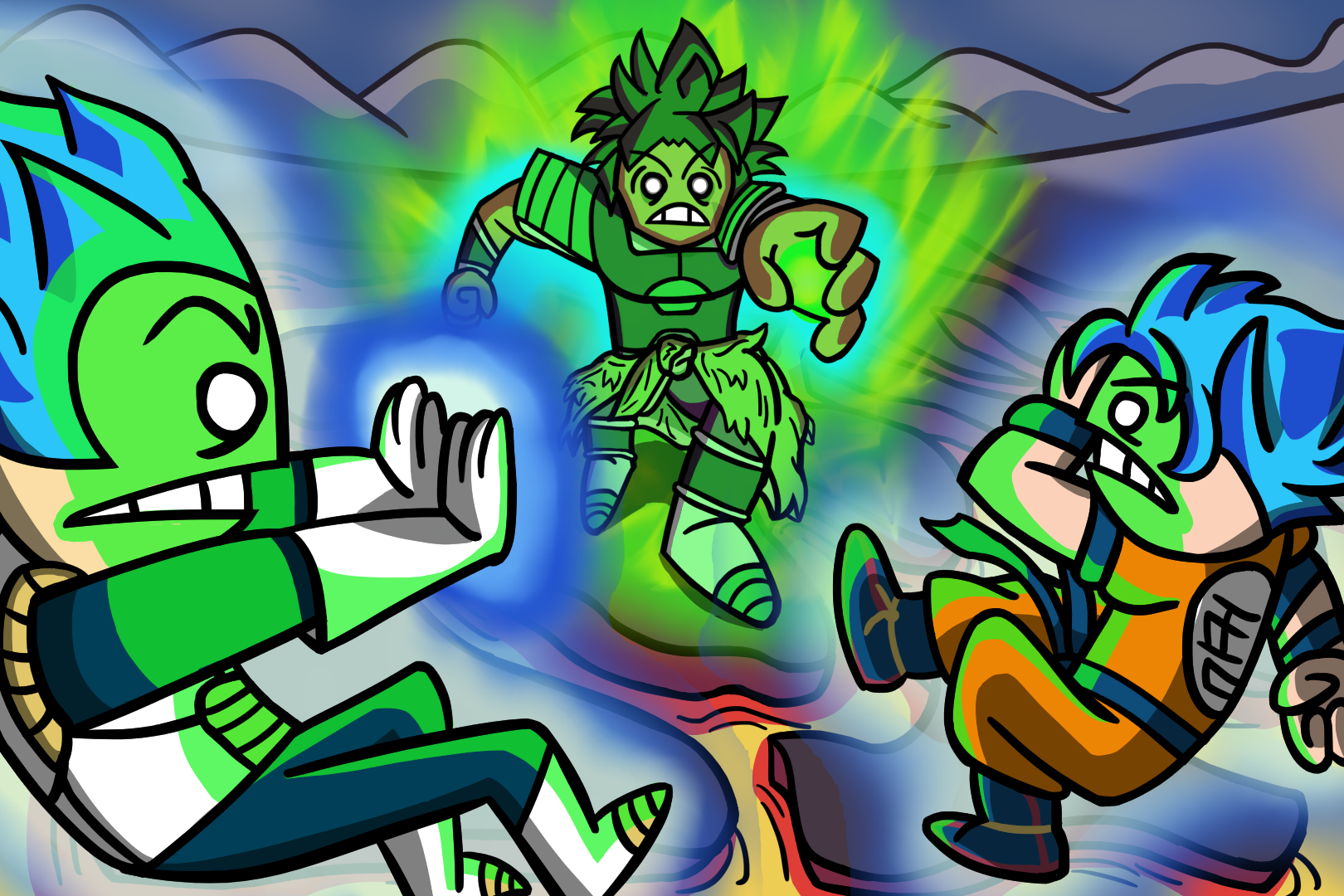 Dragon Ball Super Broly By Vincentius1 On Newgrounds