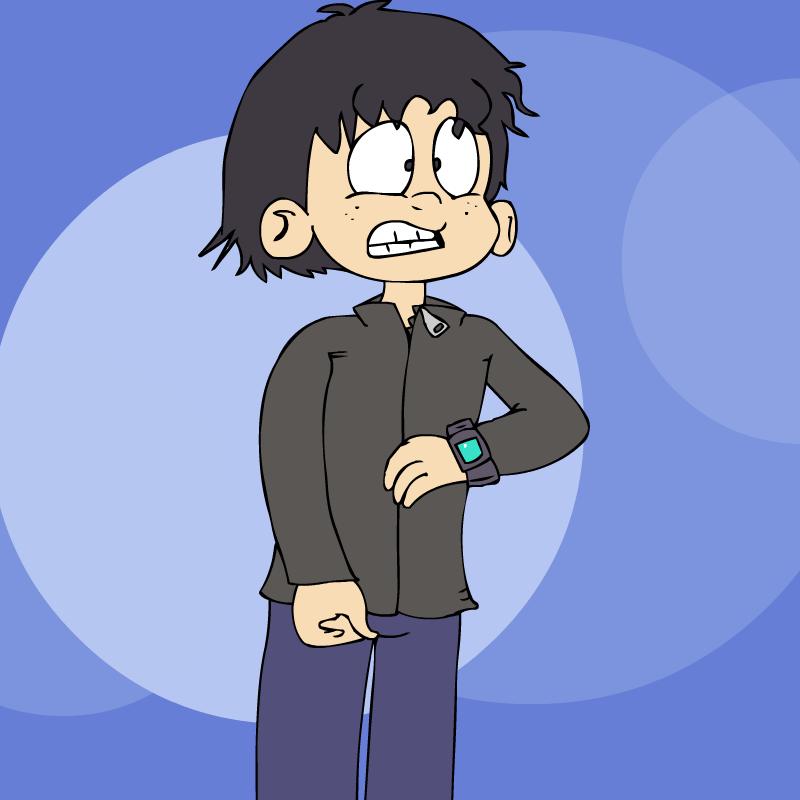 Self Portrait (cartoon style)