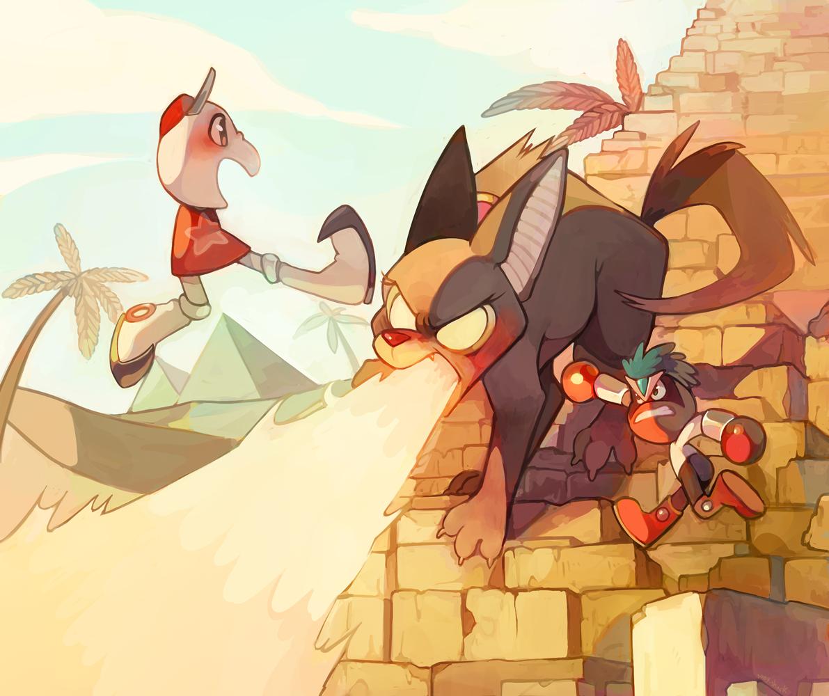 Pyramid Fight
