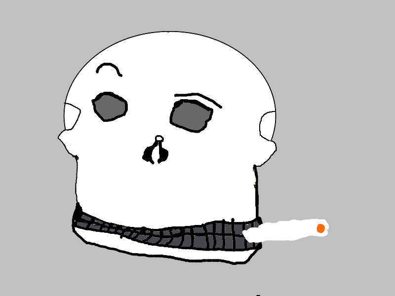 The Smokin' Skull