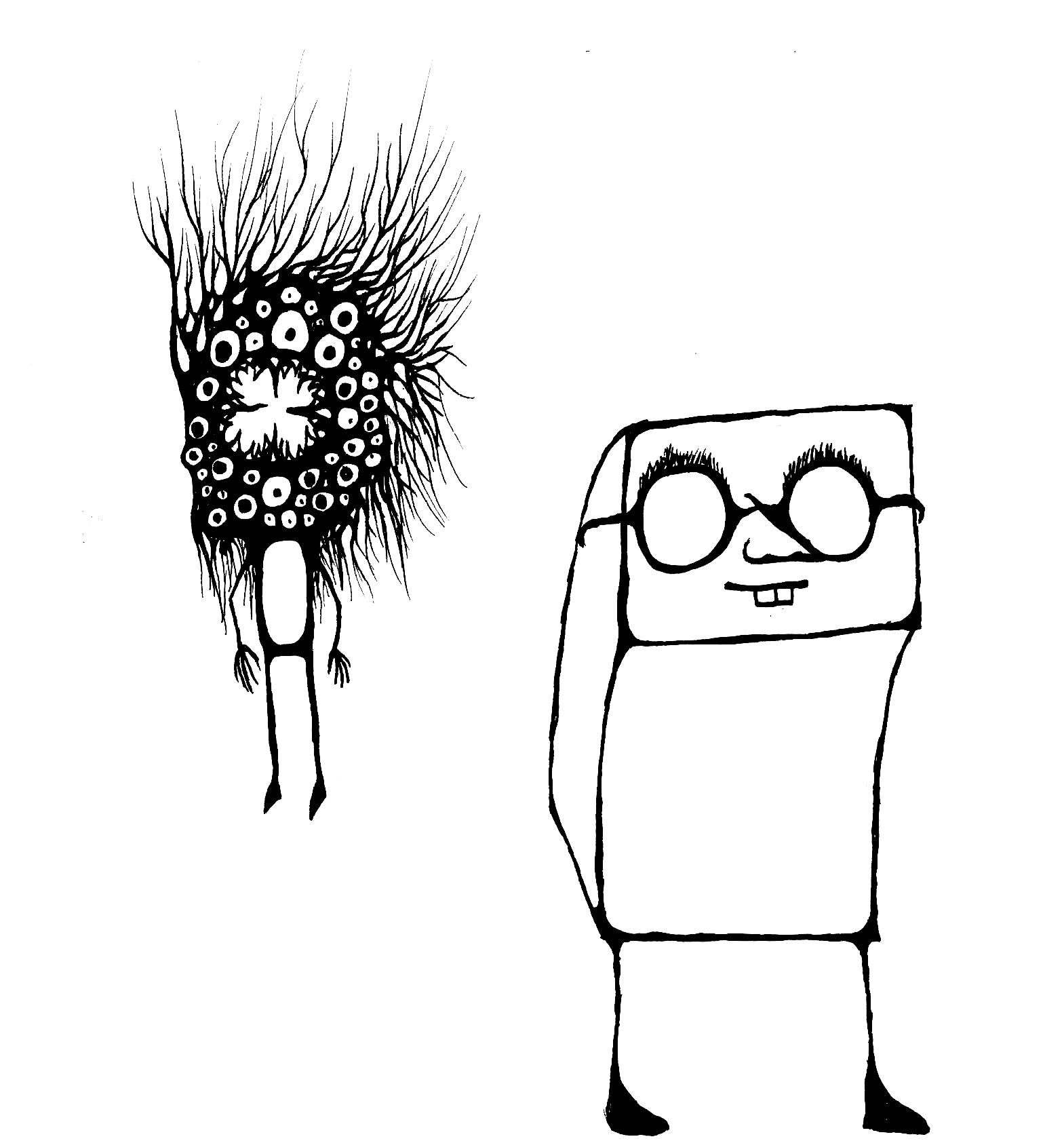 Random Character Sketches