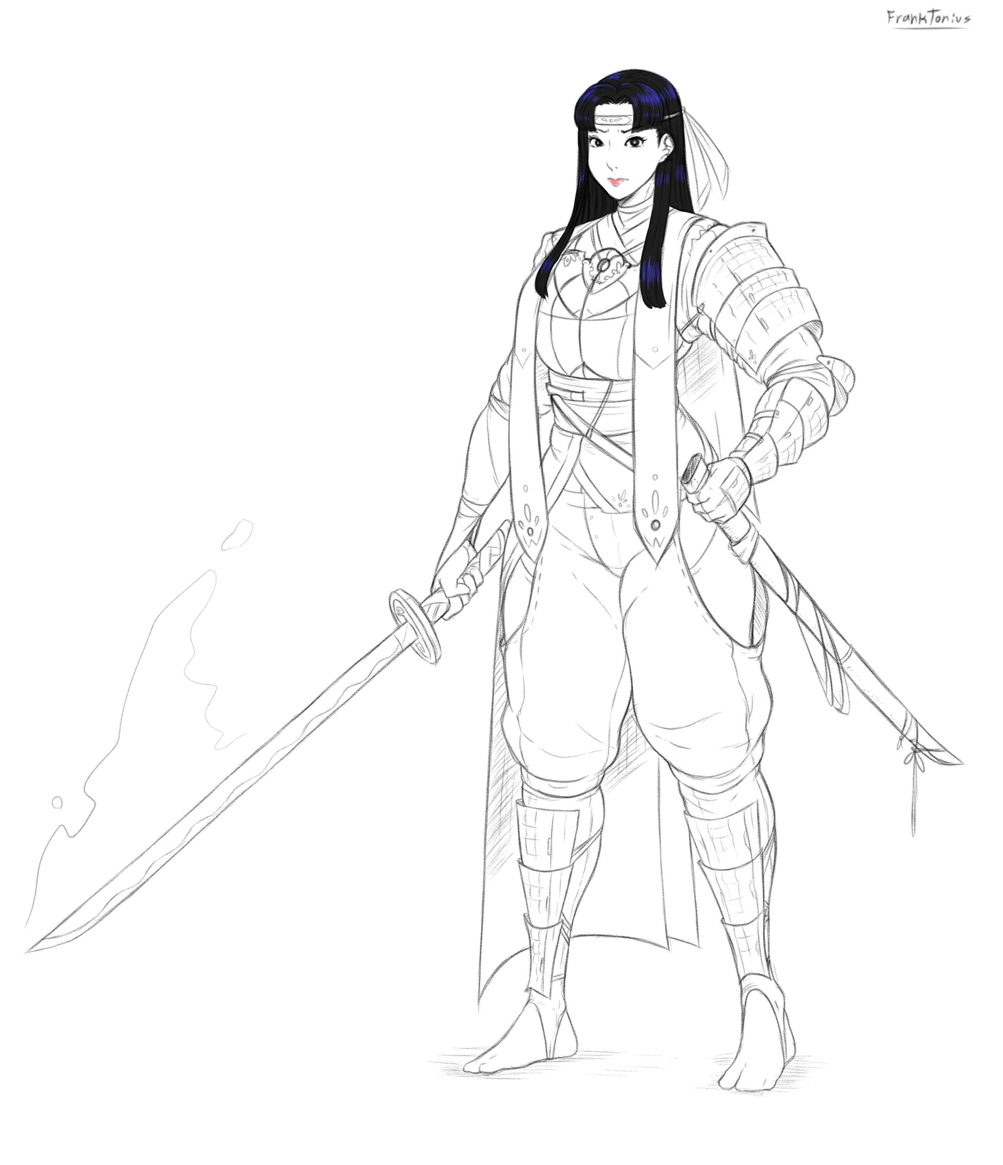 Samurai Girl Eiko