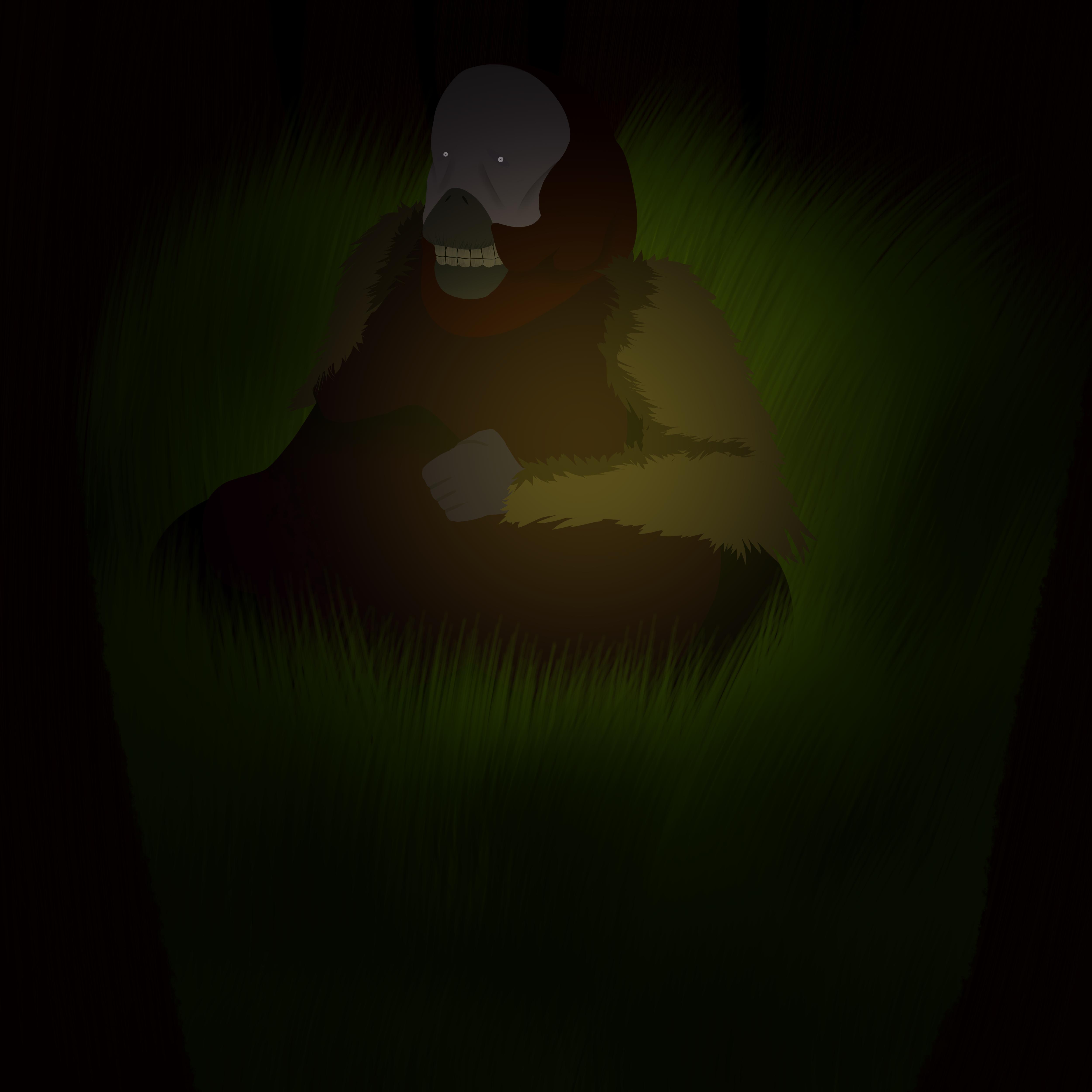 Orangutan creature