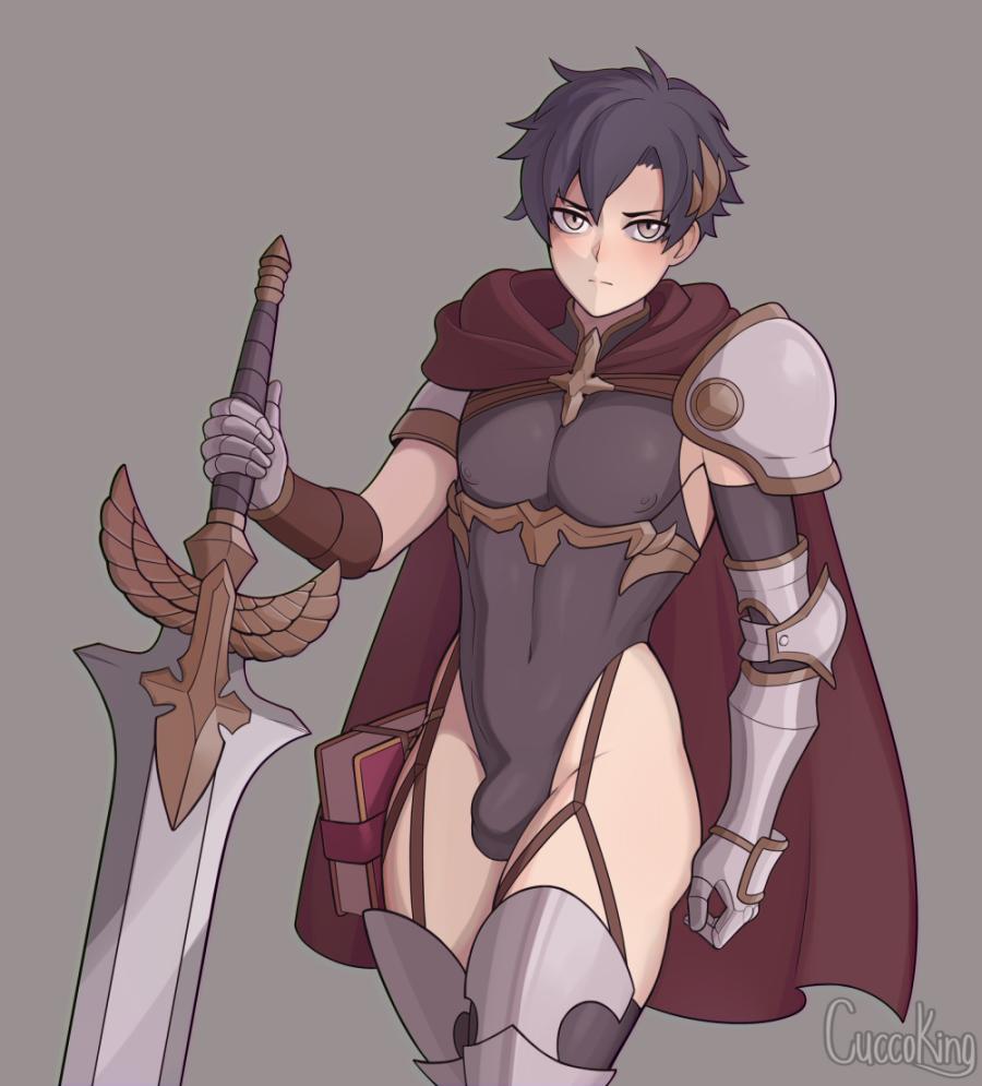 Commission- Paladin boy