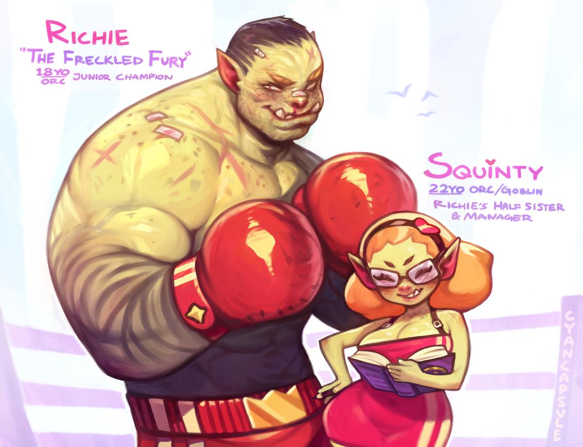 Squinty & Richie