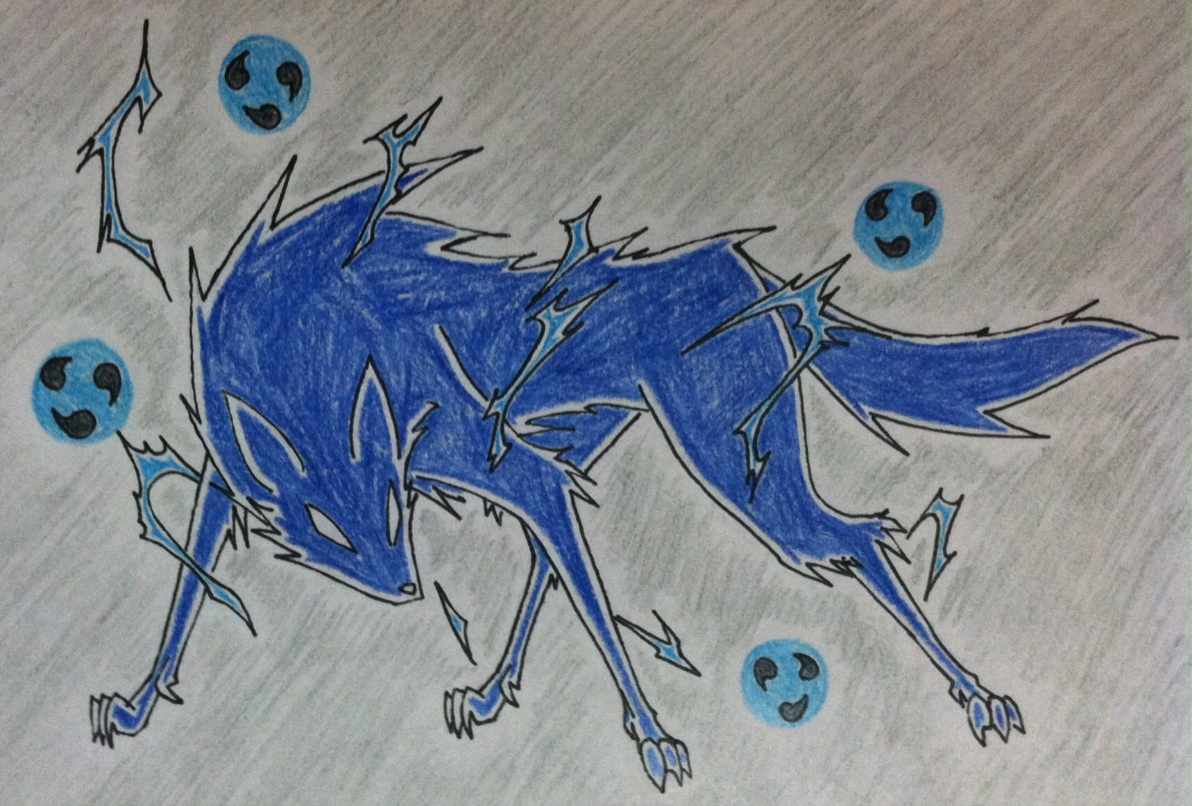 Raiju By Devilwolf9 On Newgrounds It flies like a ball of thunder and its cry sounds like thunder. raiju by devilwolf9 on newgrounds