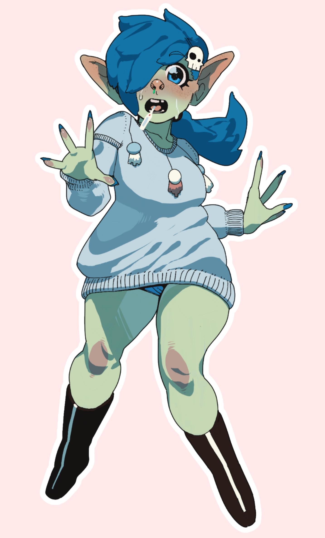 Goblin Girl Commission