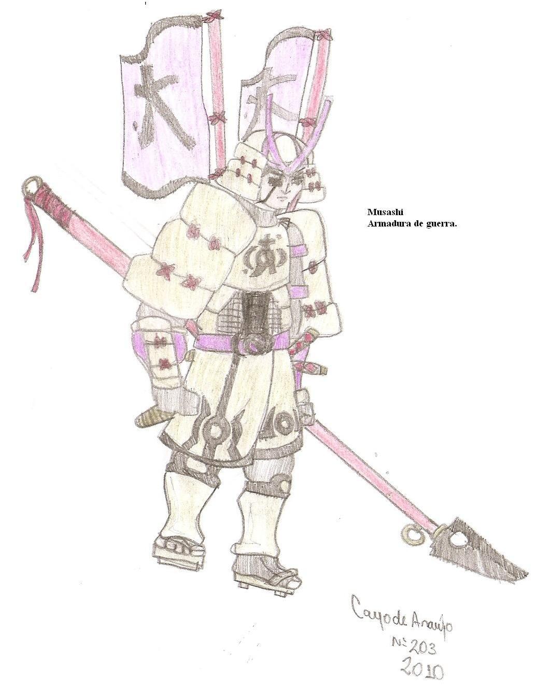 Musashi @ pencils